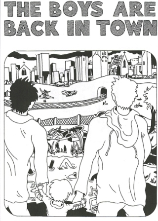 The Boys Are Back In Town - Various